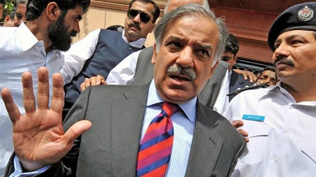 Shahbaz Sharif元首相は10日間の物理的な差し戻しでNABに引き渡した