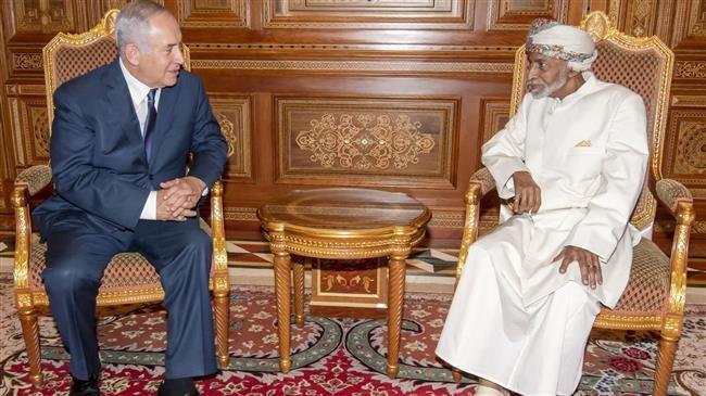 オマーンのスルタンカブースとイスラエルのベニヤミンネタニヤフ首相