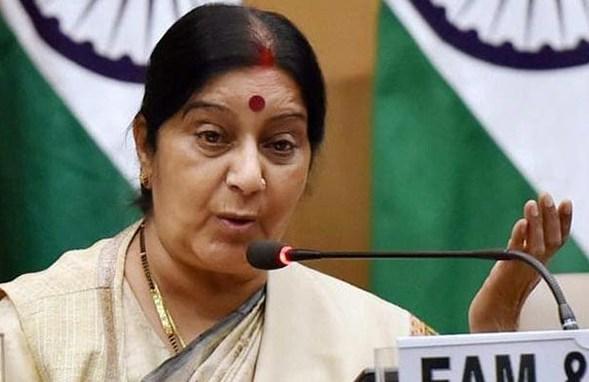 インド外相サシュマ・スワラジ