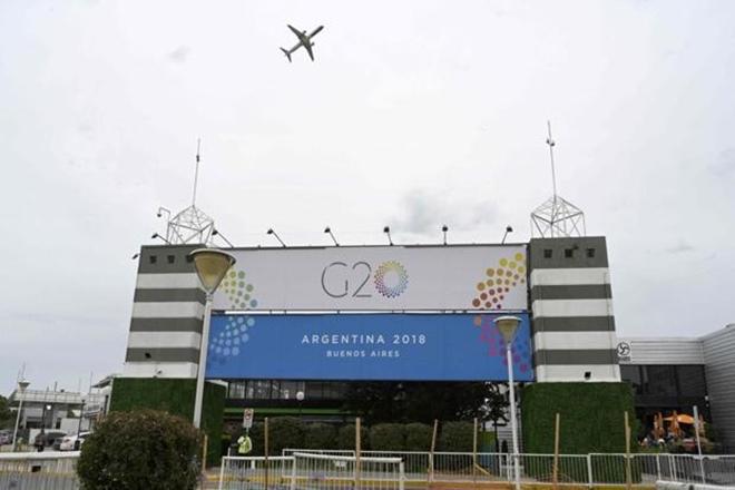 G20サミットは木曜日にブエノスアイレスで開催されています