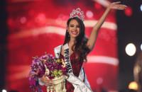 フィリピン生まれのオーストラリアのモデルとテレビのホスト、Catriona Grey