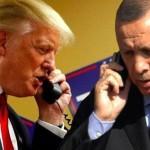 米国大統領ドナルドトランプとトルコ大統領タイペドエルドアンの電話