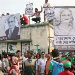 バングラデシュの選挙前にジャーナリストを攻撃、10人が負傷
