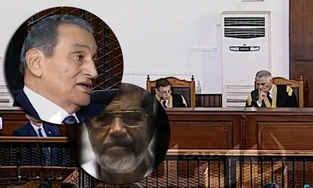 エジプトの元大統領2人のHosni MubarakとMohammad Morsi