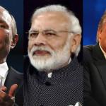 プーチン大統領、ドナルド・トランプ大統領、インド・ナレンドラ・モディ首相