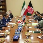 カブールでイランとアフガニスタンの治安当局者との会談