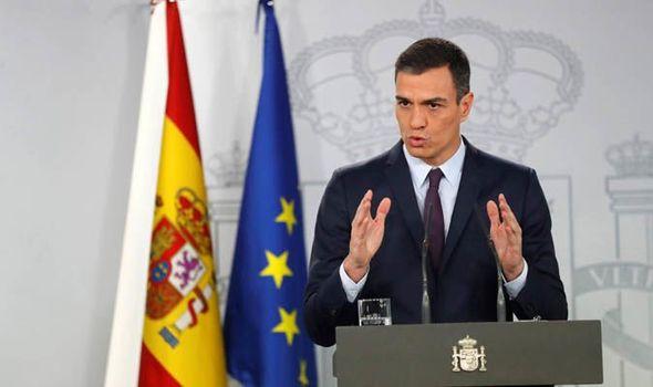スペインのペドロサンチェス首相