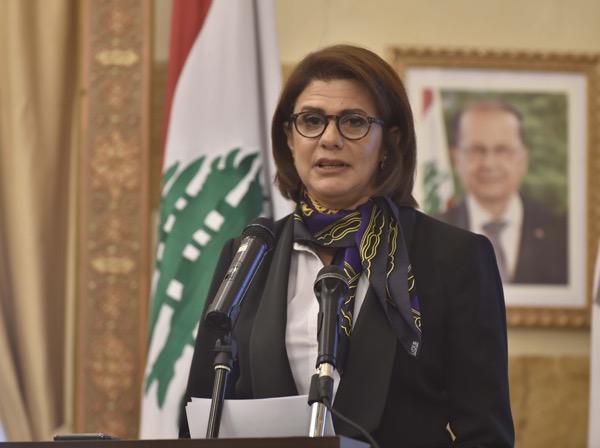 レバノン内務大臣ラヤ・エル・ハッサン