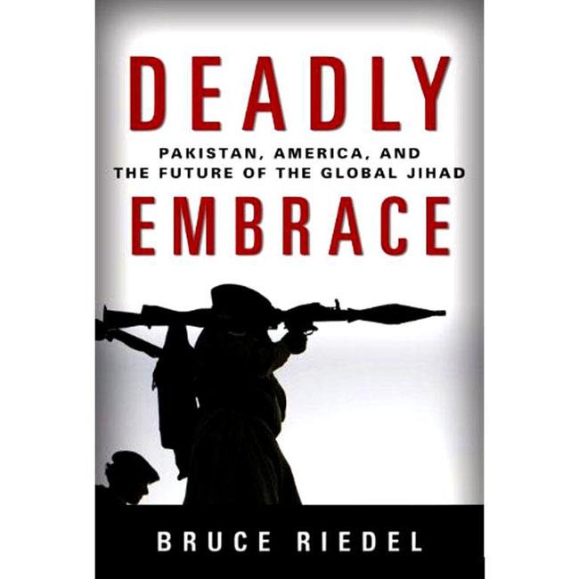 パキスタンとアフガニスタンに関する元米大統領の顧問、ブルース・リーデルについての本、 『Deadly Embrace』