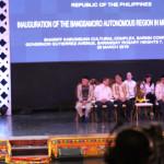 フィリピンのミンダナオ(BARM)コタバトの独立したイスラム教徒地域の就任
