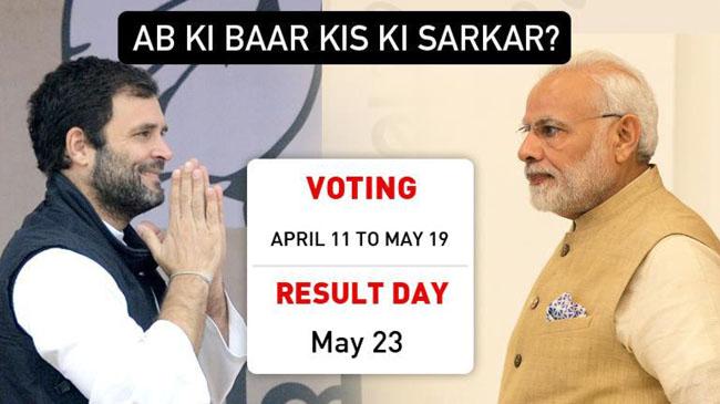Narendra ModiとRahul Gandhiの間に本当の競争があります
