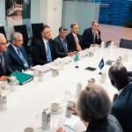 Asad Umar財務相主導のパキスタン代表団がIMF / WB春季会合に参加しました