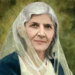 国の母、Mohtarma Fatima Jinnah