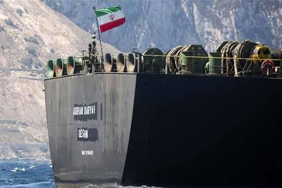 イランのグレースワンと呼ばれる石油タンカー