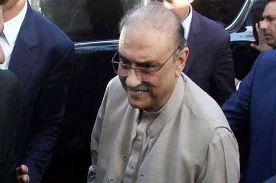 Asif Ali Zardari、共同議長、パキスタン人民党(PPP)の前大統領