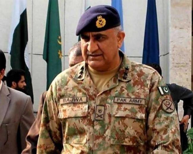 パキスタン陸軍長官カマル・ジャヴェド・バジュワ