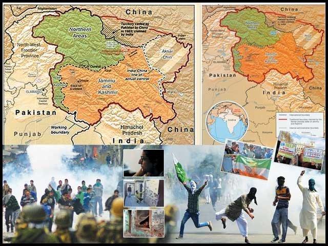 インドは、州の2つの部分への分割を発表し、占領カシミールの準自治的地位に関する第370条と、州の主題に関する大統領令35Aを終了します。