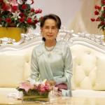 アウンサンスーチー、ミャンマーのノーベル賞受賞者