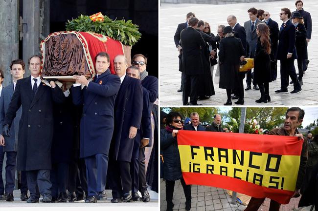 最高裁判所の判決後、フランシスコ・フランコの遺体は公共の墓から取り除かれ、公共の墓地に埋葬されました