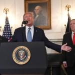 トランプ大統領は、米国が中東の血液に浸した土壌を解放すると述べた