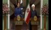 イムラン・カーン首相、イランのハッサン・ルーハニ大統領との共同記者会見に出席