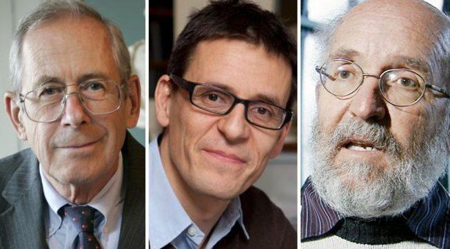 ノーベル物理学賞の受賞者の中には、84歳のカナダ系アメリカ人科学者であるジェームズピーブルズと、スイス出身の2人の科学者である77歳のマイケルマヨールと53歳のディディエケロズがいます。