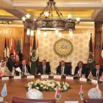 カイロでのアラブ連盟外相会議