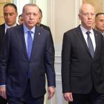 トルコのレジェップ・タイイップ・エルドアン大統領とチュニジアのカイス大統領