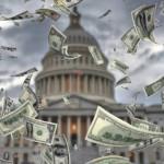 2020年には米国の財政赤字は1兆ドルを超える
