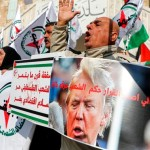 トランプの中東和平計画に対するさまざまな国での抗議