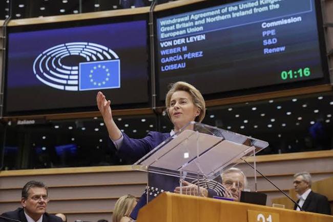 EU委員会のウルスラ・フォン・デア・ライエン委員長