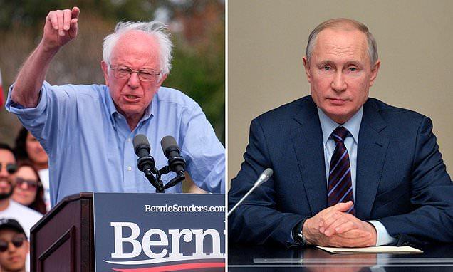 バーニー・サンダースは大統領選挙でロシアの成功を支援することを拒否した