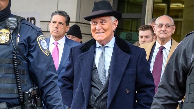 ロジャー・ストーン、ドナルド・トランプ大統領の元顧問