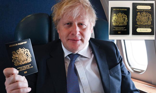 イギリスのパスポートはBrexit後は青になります