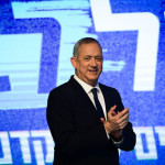 引退したイスラエルの野党党首で元陸軍総長ベニーガンツ