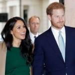 英国のハリー王子と妻のメーガンマークル