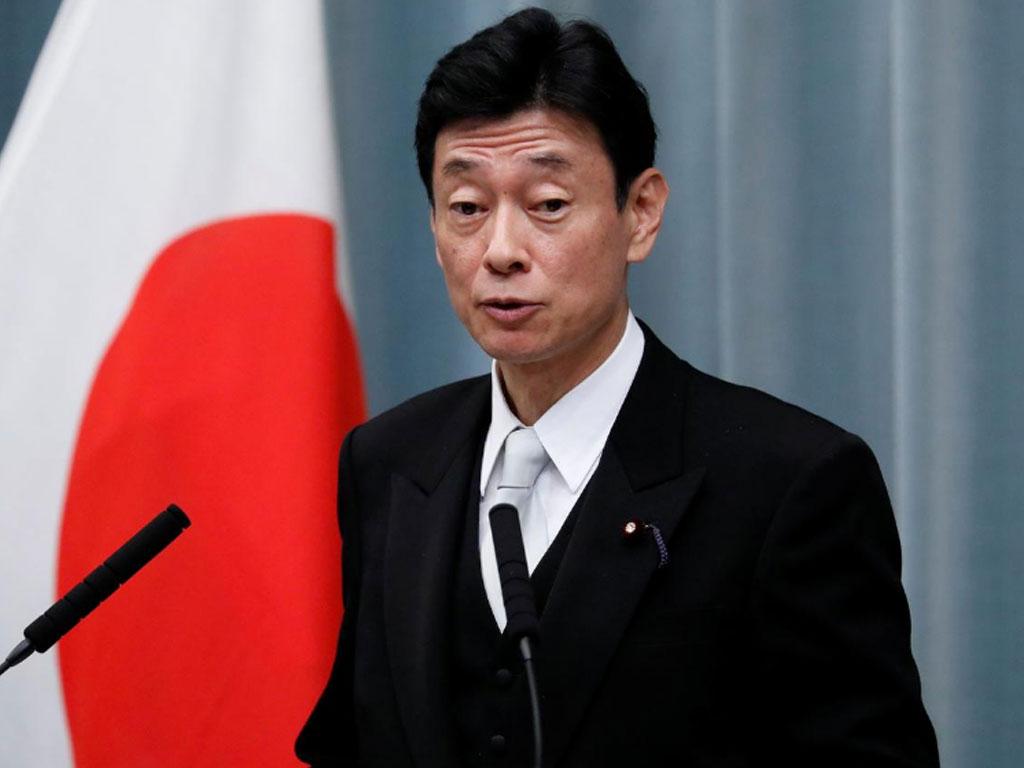 日本の経済大臣西村康俊