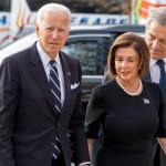 米国下院議長、ナンシー・ペロシ氏と米国大統領ジョー・バイデン氏