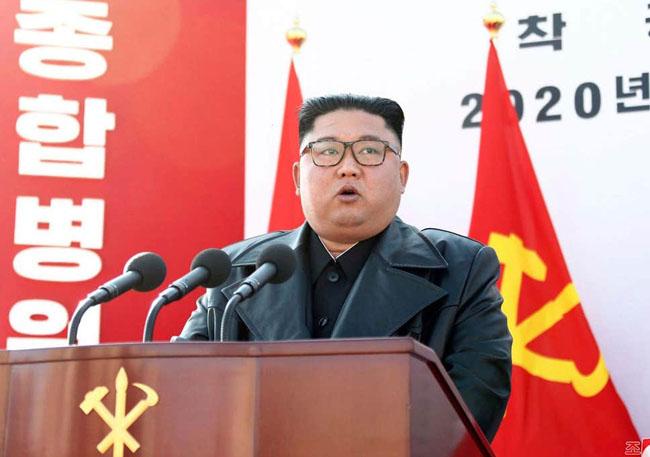 北朝鮮最高指導者の金正恩