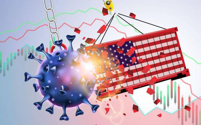 コロナウイルスは米国のGDP成長率を前年比4.8%に減速させる