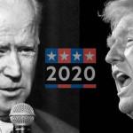 米国大統領候補のドナルド・トランプとジョー・バイデン