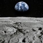月の日光にさらされる部分にも水があります