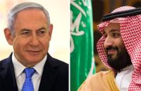 イスラエルのベンヤミン・ネタニヤフ首相、サウジアラビアのムハンマド・ビン・サルマン皇太子