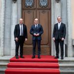 ドイツ、フランス、英国の外相