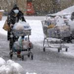 日本海北部および東部の沿岸地域の降雪は、週末まで続く可能性があります。