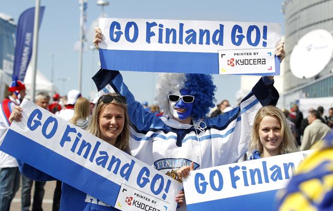 フィンランドは世界で最も幸せな国の中で第1位です