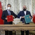 イランと中国の間の25年間の協力協定が土曜日にテヘランで署名されました。
