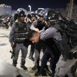 占領軍は、占領下のエルサレムで進行中の取り締まり中に3日間で80人の民間人を拘留します