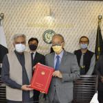 協定は、松田邦紀駐パキスタン日本大使とノール・アフマド経済事務局長によって署名されました。
